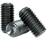 Socket set screw, knurled point